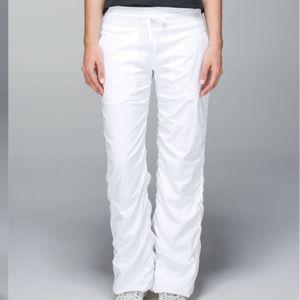 Lululemon Studio Pant II *Liner  White